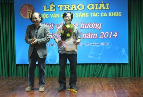 """Tác giả Trần Xuân Tiên với tác phẩm """"Khúc chiều"""" đã đạt giải nhất"""